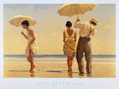 Jack Vettriano Mad Dogs