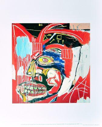 Jean-Michel Basquiat In This Case 1983