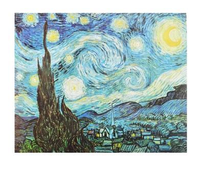 Vincent van Gogh Sternenklare Nacht in St. Remy