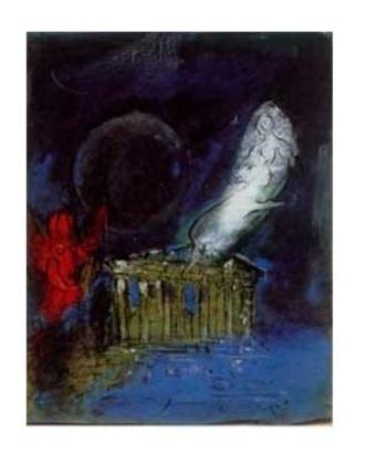 Marc Chagall Akropolis