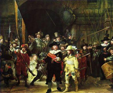 Rembrandt Die Nachtwache  1642