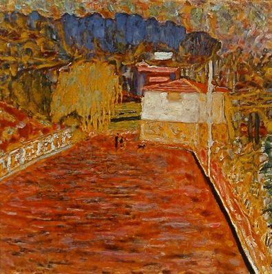 Pierre Bonnard Die Strasse der Rosen