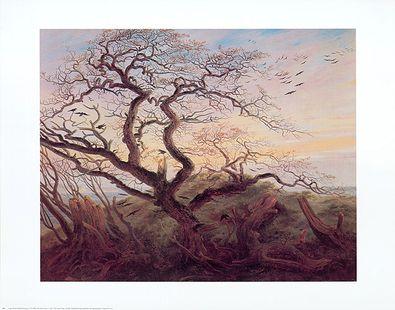 Caspar David Friedrich Kraehen auf einem Baum