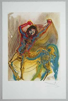 Salvador Dali Centaure de Crete