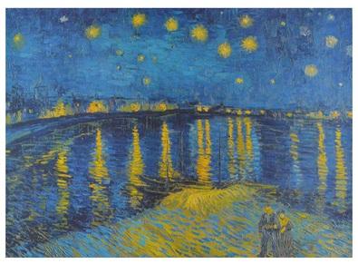 Vincent  van Gogh Sterne ueber der Rhone