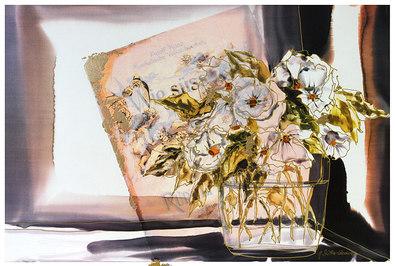 Jutta Ritter-Scherer Stilleben mit Blumenvase