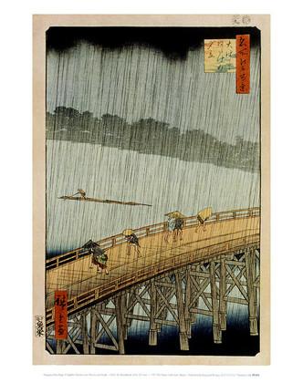 Utagawa Hiroshige A Sudden Shower
