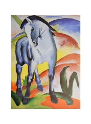 Franz Marc Blaues Pferd I Monaco