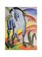 Marc franz blaues pferd i monaco medium
