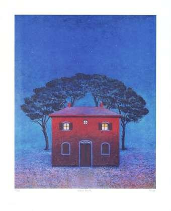 Folkert Rasch Haus in Arezzo (Blau)