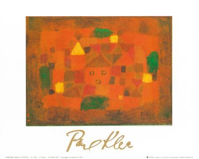 Paul Klee Paesaggio al tramonto 1923