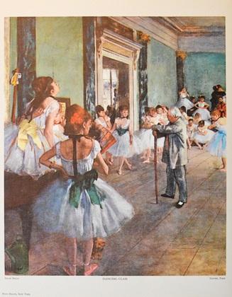 Edgar Degas Taenzerklasse