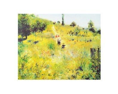 Pierre Auguste Renoir Aufsteigender Weg im Gruenen