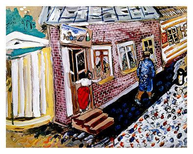 Marc Chagall Die Strasse