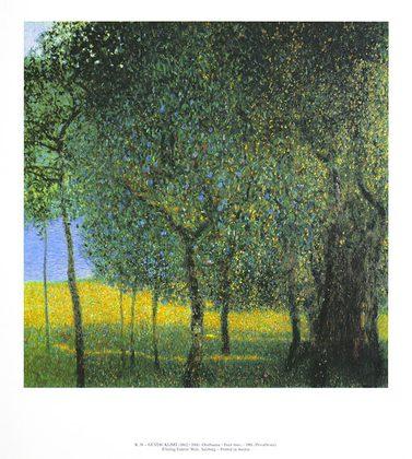 Gustav Klimt Obstbaeume, 1901 (K 38)
