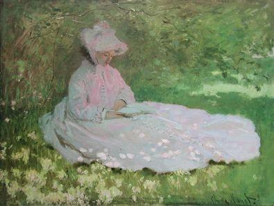 Claude Monet Fruehling