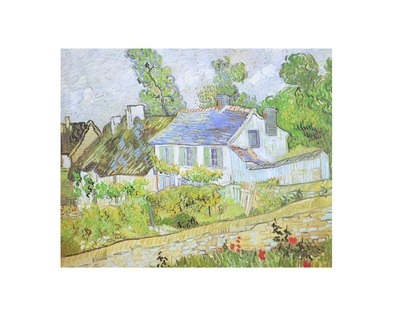 Vincent van Gogh Haeuser in Auvers