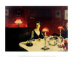 Sargent john singer le verre de porto a dinner table at night 1884 medium