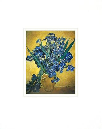 Vincent van Gogh Still Life with Irises, 1888