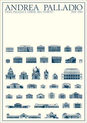 Andrea Palladio Erhaltene Bauten