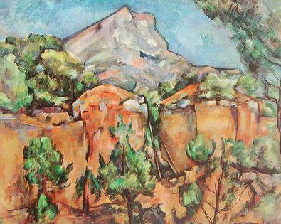 Paul Cezanne Mont Ste Victoire
