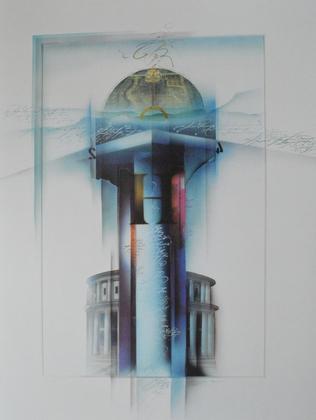 W. Reinshagen Architekturstudie I