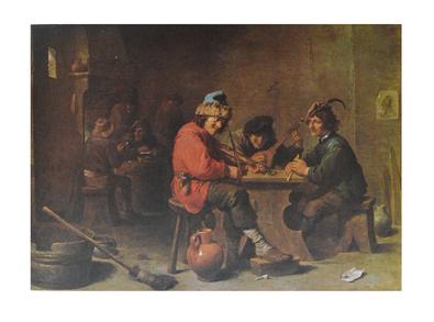 David Teniers Drei musizierende Bauern