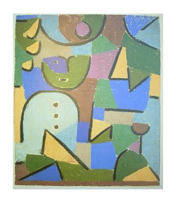 paul trefle personnage dans le jardin poster image art With französischer balkon mit paul klee garten
