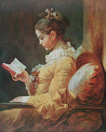 Jean-Honore Fragonard Junges Maedchen beim Lesen  ca  1776