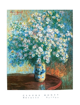 Claude Monet Bouquet d Asters
