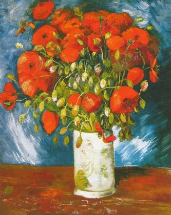 Vincent van Gogh Mohnblumen   1886