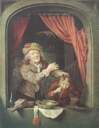 Gerard Dou Der Zahnarzt