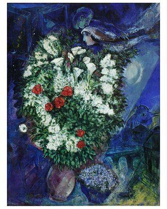 Marc Chagall Blumenstrauss