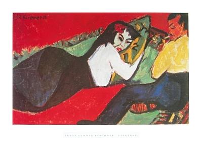 Ernst Ludwig Kirchner Die Liegende