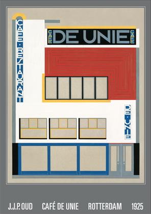 J. J. P. Oud Cafe De Unie, Rotterdam, 1925