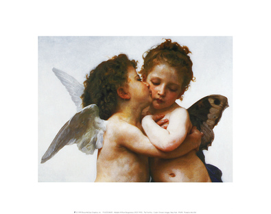 William Adolphe Bouguereau The First Kiss