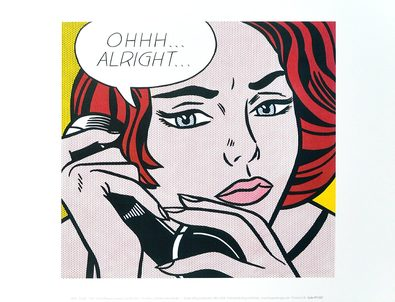 Roy Lichtenstein Ohhh...Alright... 1964