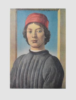 Sandro Botticelli Bildnis eines jungen Mannes