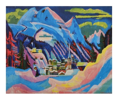 Ernst Ludwig Kirchner Davos im Winter