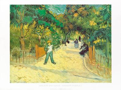 Vincent van Gogh Giardini publici