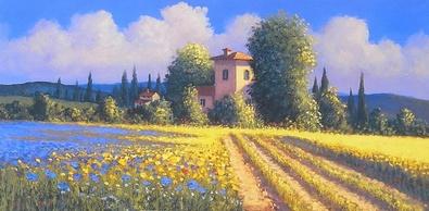 David Short Summer Fields II