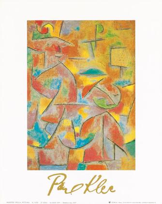 Paul Klee Bimba e zia 1937