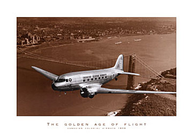 Carl Mydans Canadian Colonial Airways 1939