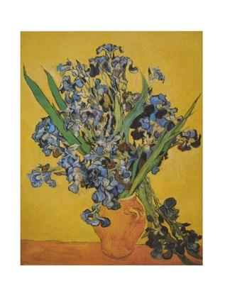 Vincent van Gogh Nature morte aux Iris