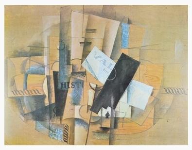 georges braque gueridon 1913 poster kunstdruck bei. Black Bedroom Furniture Sets. Home Design Ideas