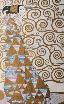 Klimt gustav erwartung k 117  poster  large