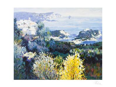 Omar Hamdi Malva Griechische Landschaft (gross)
