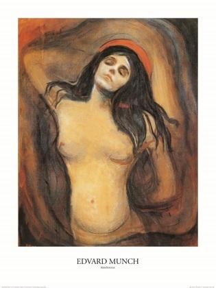 Edvard Munch Madonna