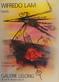 Wifredo Lam Pastels - Ausstellungsplakat 1988