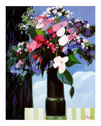 Jean Brissoni Juli-Blumen